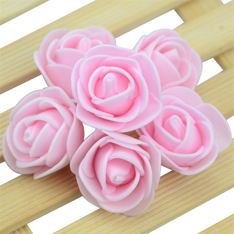 10pcs Mini Foam Rose Artificial Flower Multi color Rose Decoration Bear Wedding Birthday Valentine 39 s party Flower Decoration in Artificial amp Dried Flowers from Home amp Garden