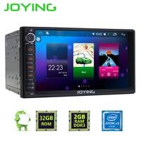 Android 5 1 Lollipop Joying 7 Double 2 Din Universal Car Radio Headrest Quad Core 1024