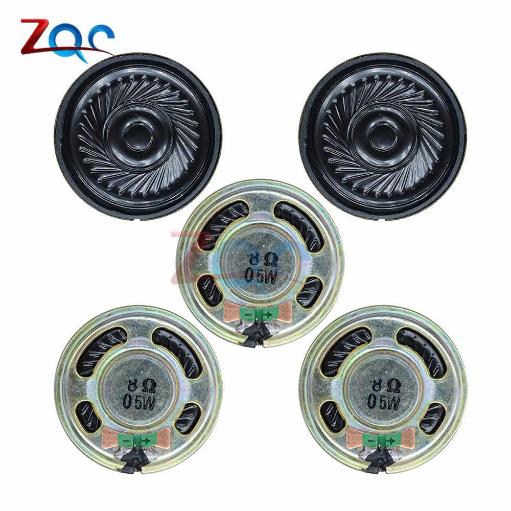 5pcs Ultra-thin speaker 8 ohms 0.5 watt 0.5W 8R speaker Diameter 36MM 3.6CM thickness 5MM