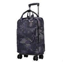 Женская дорожная сумка, сумка на колесиках/Чехол, рюкзак для путешествий с колесиком, сумка на колесиках, переносной чехол для костюма, водонепроницаемая сумка Оксфорд