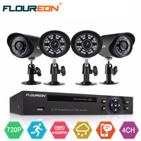 8CH 960H CCTV Kits Onvif Hybrid DVR CCTV DIY Kits Outdoor 900TVL Analog Camera Security Kit