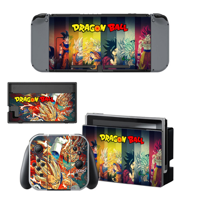 Dragon Ball Skin Sticker for Nintendo Switch (14 Models)