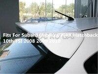 ABS Unpainted Car Rear Wing Trunk Lip Spoilers Fits For Subaru Impreza/WRX Hatchback 10th TSI 2008 2009 2010 2011