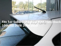 ABS Unpainted Car Rear Wing Trunk Lip Spoilers Fits For Subaru Impreza/WRX Hatchback 10th TSI 2008 2009 2010 2011