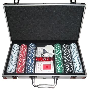 Malette poker pro 300 jetons + 2 jeux de cartes 1