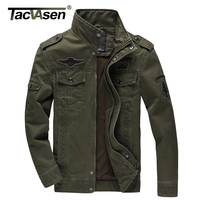 6XL Men Army Soldier Jacket Washing Cotton Air Force One Jacket Male Plus Casual Man Jackets