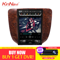 KiriNavi IPS Screen 12.1 Android 7.1 Car Radio Stereo Gps for Chevrolet Silverado Suburban Avalanche GMC Sierra Yukon 2007 2013