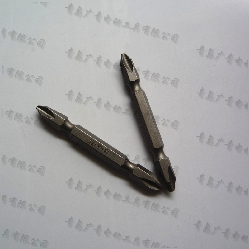 Japan Makita Cross Screwdriver Head Drill Bit Head Screwdriver 2PCS