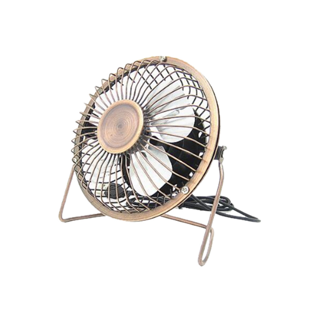 Smart Electronics Hiperdeal 4-inch Super Mute Mini Usb Metal Desk Fan Pc Cooler Cooling Laptop Notebook 4.16 To Win A High Admiration And Is Widely Trusted At Home And Abroad.