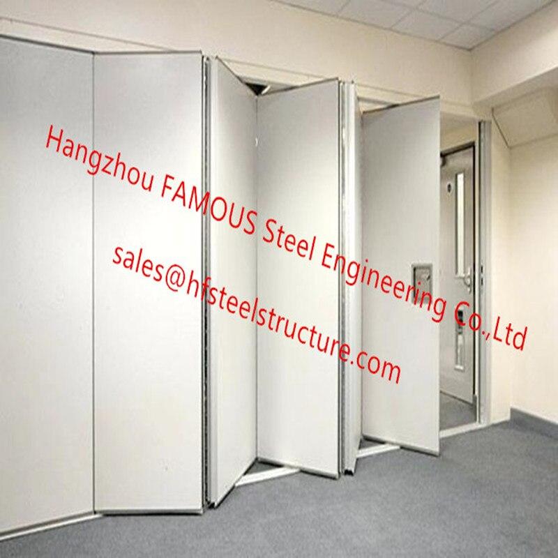 pvc panel folding doors decorative wall