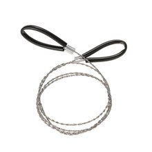 1pcs High Quality Stainless Steel Wire Saw Outdoor Practical Emergency Survival Gear Tools Camping Equipment Tool