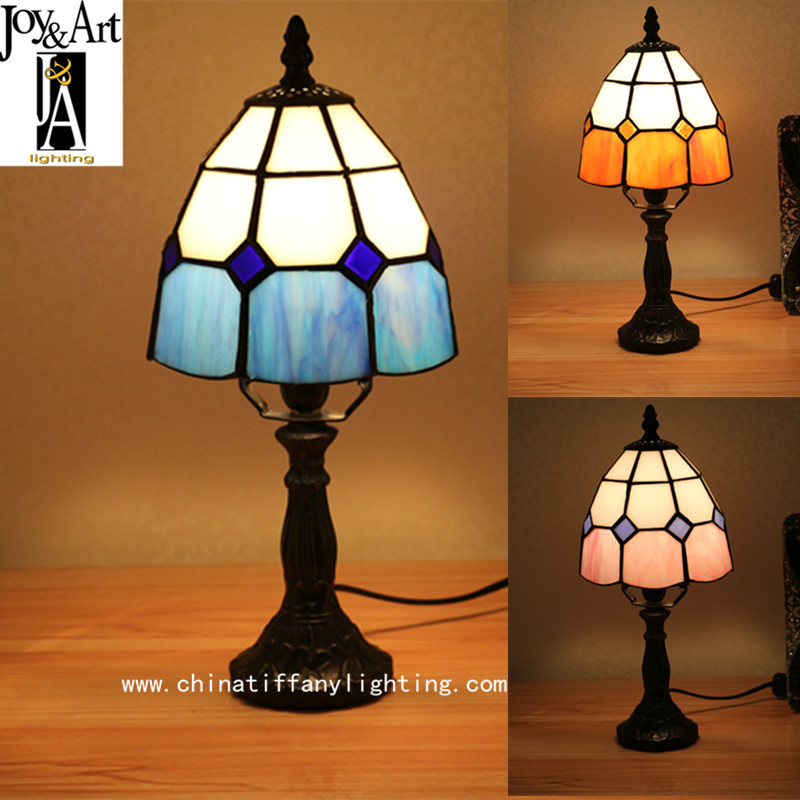 Tiffany is the brand Mediterranean European style modern minimalist bedroom bedside light warm small desk decoration Table Lamps дрель аккумуляторная фиолент дша 1 10 рэ3 12