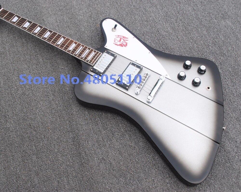 Usine directe firebird édition personnalisée guitare électrique avec long Verson maître Vibrola livraison gratuite