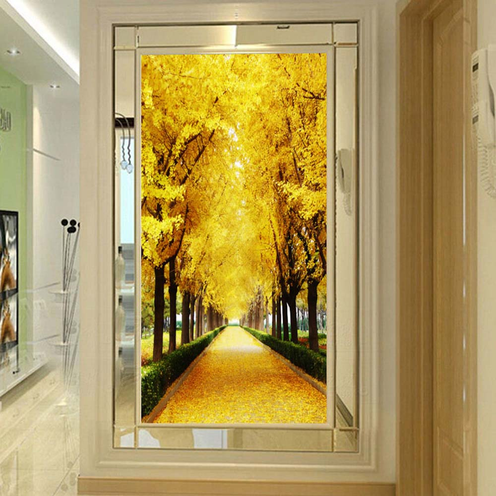 3d Photo Mural Wallpaper Wall Paper for Living Room Home Wall ...