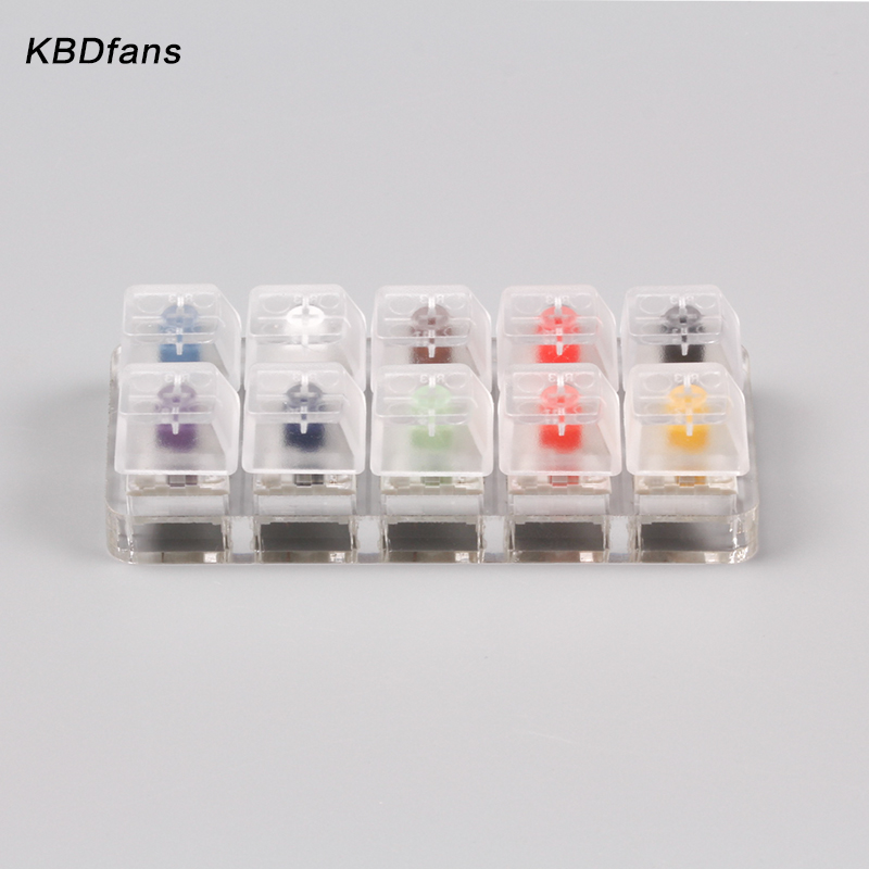 Kailh 10 switches switches tester box switch tester box white navy jade royal switch цены онлайн