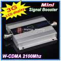 Pantalla lcd! Mini W-CDMA amplificador de señal de 2100 Mhz 3 G repetidor de señal WCDMA amplificador de señal celular amplificador de señal amplificador