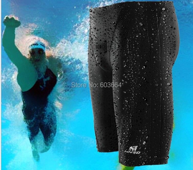 Značka Sharkskin Profesionální pánské plavecké šortky vodotěsné soutěže plavat kmeny školení plavky kalhotky plavky kalhoty
