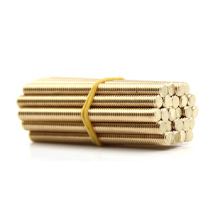Solid brass all thread threade