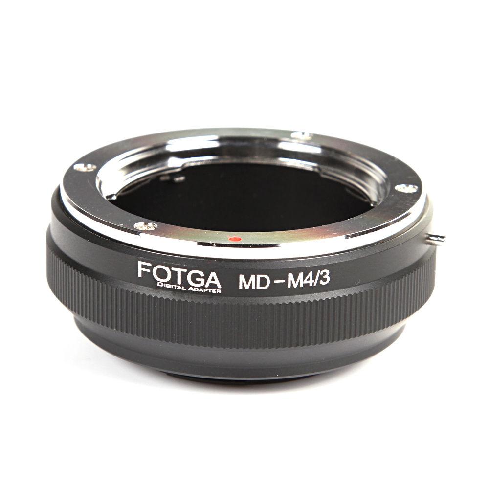 Vente en gros FOTGA lentille adaptateur anneau pour Minolta MD lentille à Panasonic Olympus Micro 4/3 M4/3 E-P1 PL7G1 GF1 E-P5 G7 GH4 OM-D E-M10