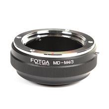Vente en gros FOTGA lentille adaptateur anneau pour Minolta MD lentille à Panasonic Olympus Micro 4/3 M4/3 E P1 PL7G1 GF1 E P5 G7 GH4 OM D E M10