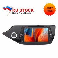 Russia In Stock Android 8.0 Car Stereo DVD Player For Ceed 2013 2014 2015 4GB CPU 8 IPS 2 Din Auto Radio GPS GLONASS Navigation