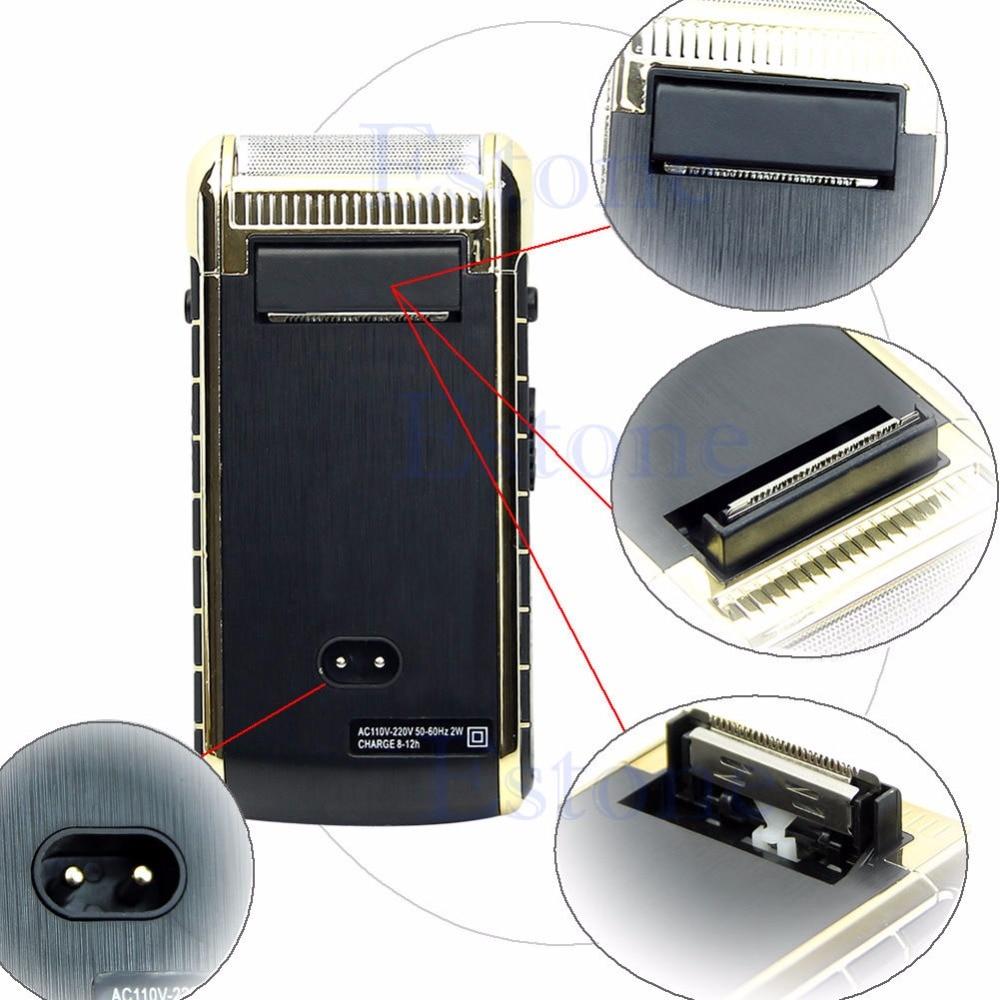Deluxe Pro Rechargeable Cordless Men'sElectric Shaver Razor Built-in Mirror цены