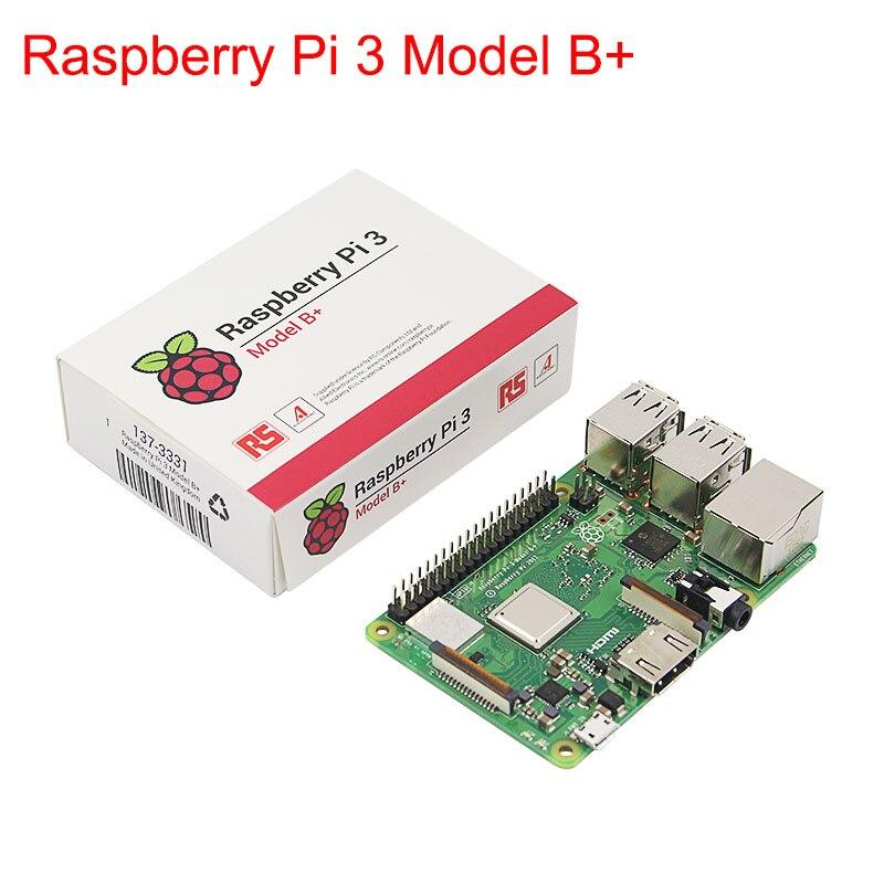 Original Raspberry Pi 3 Model B+ Plus UK Made 1.4GHz quad-core 64 bit Processor Bulit-in 2.4G 5G Wifi & Bluetooth support POE