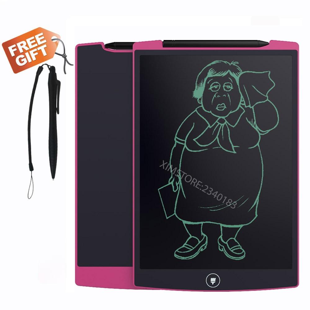 8.5 Inch Whiteboard Teaching Tablet Memo Blackboard for School Children Drawing Playing Handwriting LCD Pink Writing Board
