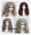 Синтетические Волосы Длинными Вьющимися Блондинка Коричневый Черный Парики Старинные Косплей Парики Для Женщин
