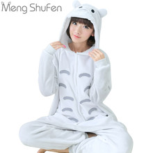 2017 New style Unisex Adult Totoro Pajamas Sets Sleepwear Cosplay Party  Costume Cartoon Animal Onesies Pyjamas Women Men Girls 8d56338c6