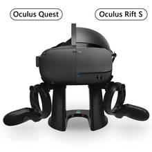 VR Stand,Headset Display Holder and Controller Mount Station for Oculus Rift S / Oculus Quest Headset and Touch Controllers 2019 new russia vr headset rack display holder stand for oculus rift s oculus quest vr headset and touch controllers