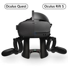 Подставка VR, демонстрационная Подставка для наушников и контроллер, установочная станция для Oculus Rift S/Oculus Quest гарнитуры и сенсорных контроллеров