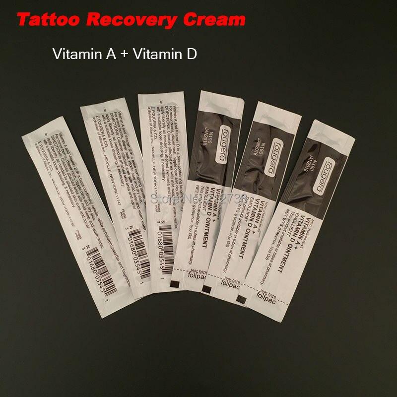 Promo 100pcslot Permanent Makeup Tattoo Supplies Fougera Vitamin