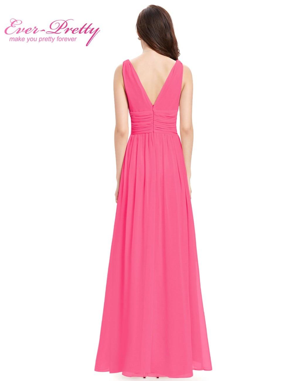 Moderno Vestido De La Dama De Honor De Encaje Rubor Ornamento ...