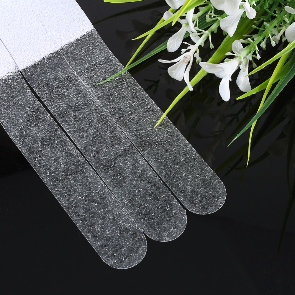 12pcs Anti-Slip Bath Grip Stickers Clear Non-Slip Flooring Safety Bath Tub Shower Strips Tape Mat Applique Bathroom Accessories