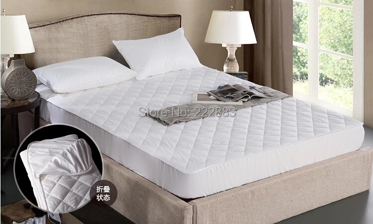 New Arrival 110x200cm Cotton Quilted Waterproof Mattress Pad Non Slip Cover For Bed Wetting