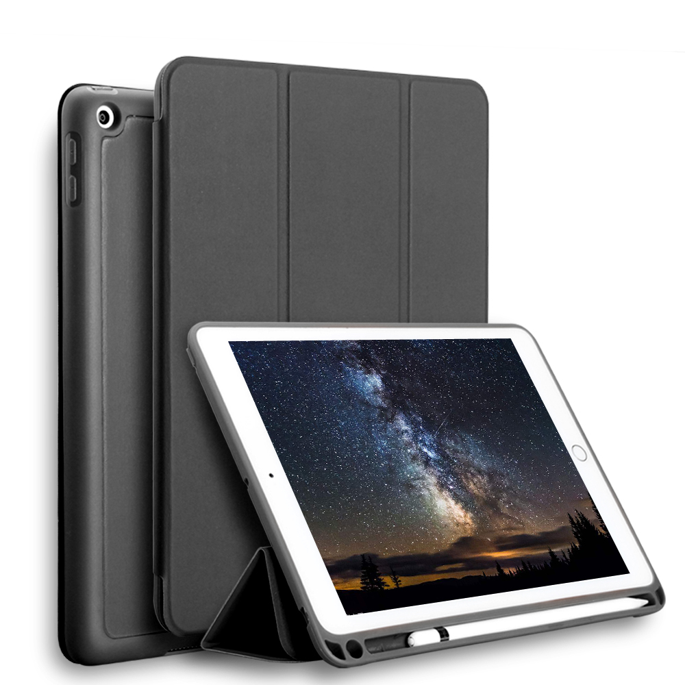 TPU Silicone Soft Shell Case Case For Ipad Pro 12.9 Inch Pouch Bag Cover With Pencil Slot For Ipad Pro 12.9 2017