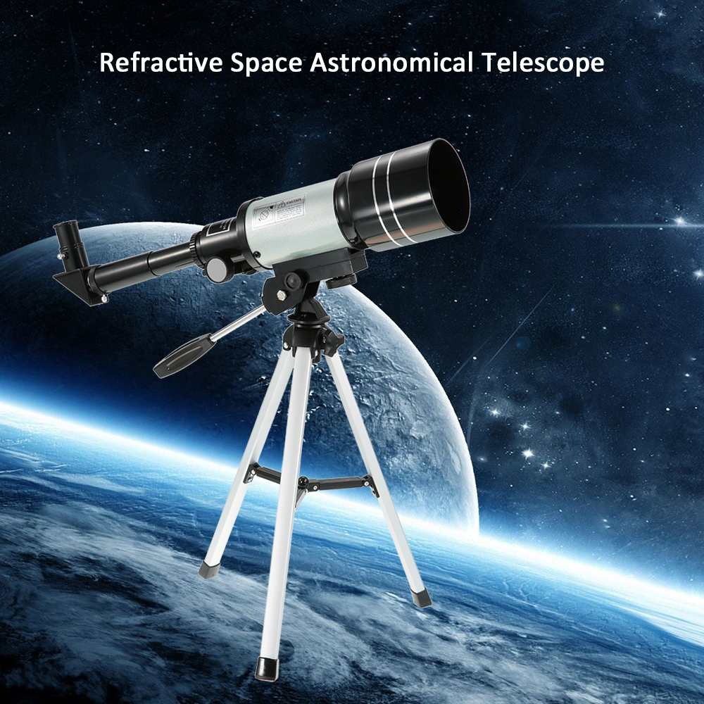 F30070M Monocular Outdoor HD Monocular 150X Refractive Space Astronomical Telescope Travel Spotting Scope with Portable Tripod