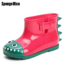 sponge mice Rubber Boots Children Boots For Girls Boys Kids Cartoon Rainboots Candy Color Antiskid Rain Boot Waterproof Shoes