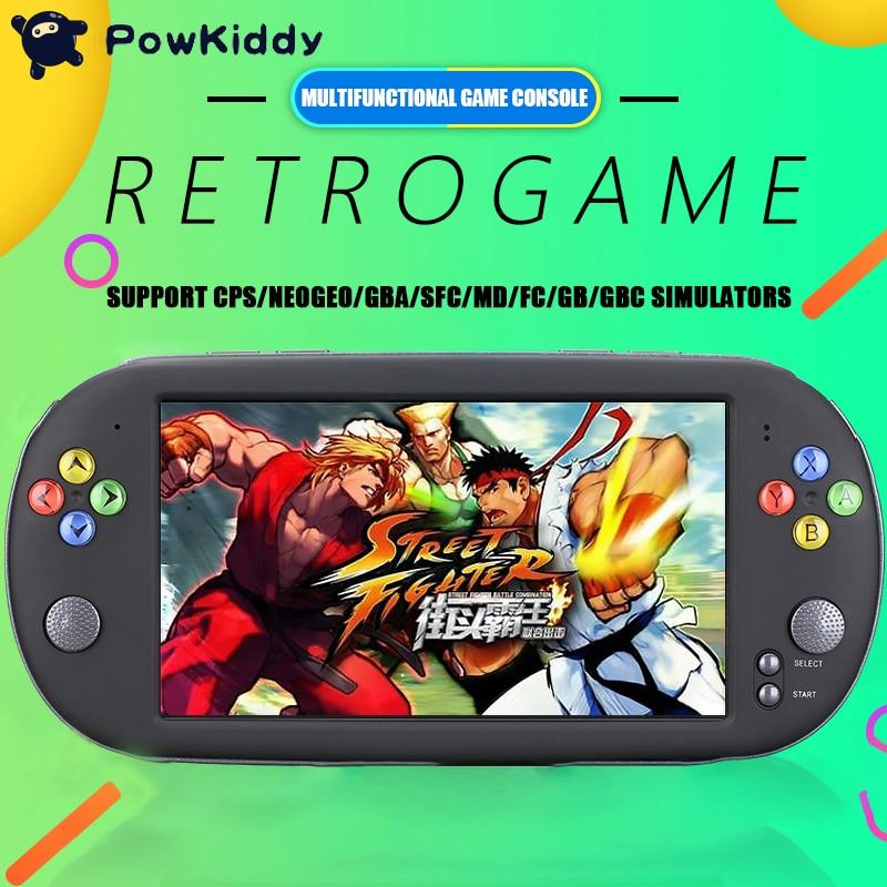 Newest 7 Inch Game Console Portable support for neogeo arcade video games retro mini game 8