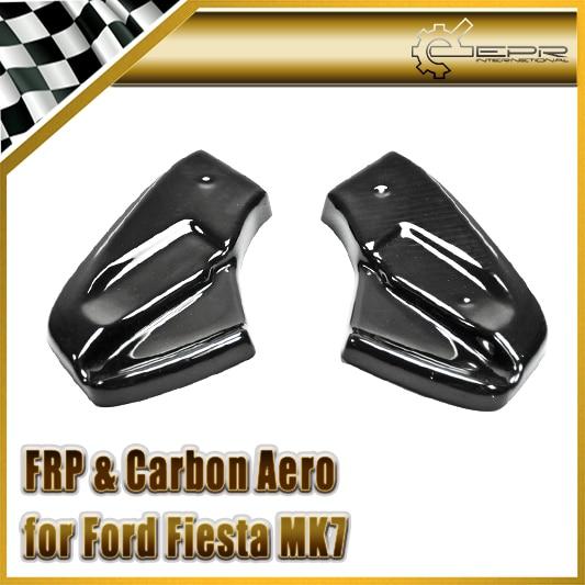 Car Styling FRP Fiber Glass Rear Spat Fit For Ford Fiesta MK7 Facelift MD Style (Fits MK7 ST/ STLine/ Zetec S version 2013 o