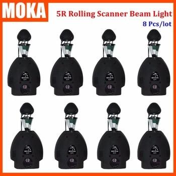 8 Teile/los 200 Watt sharpy 5R moving head licht Drehen Roller Scanner Licht DMX 5R roller scan-licht für bar KTV dj party bühnenshow