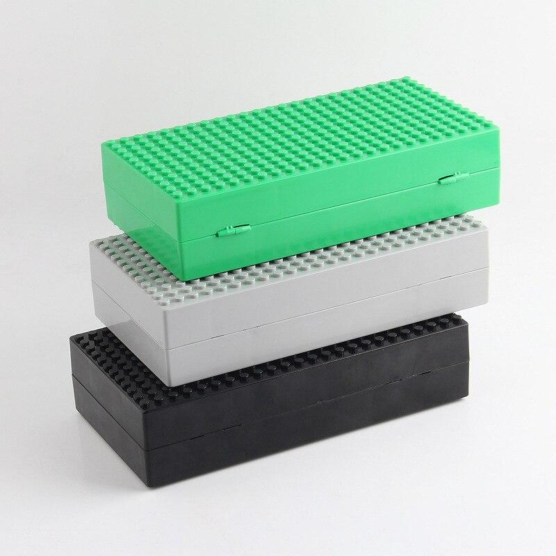 Blocos nova caixa de armazenamento de Plastic Block Shape : Self-locking Bricks Box
