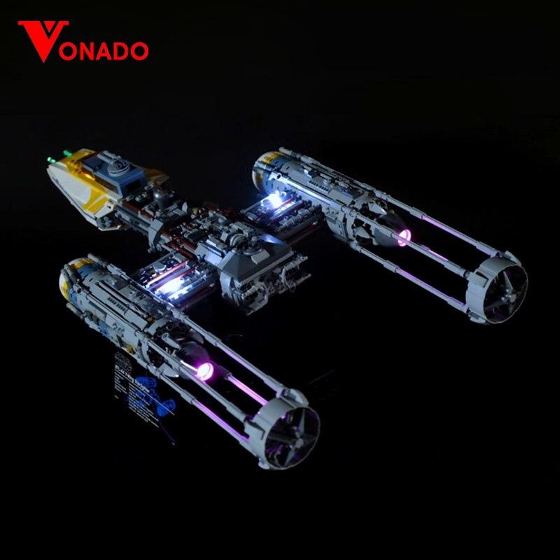 LED light for Lego 05143 STAR The 75181 New Y wing Starfighter Set Model Building Blocks