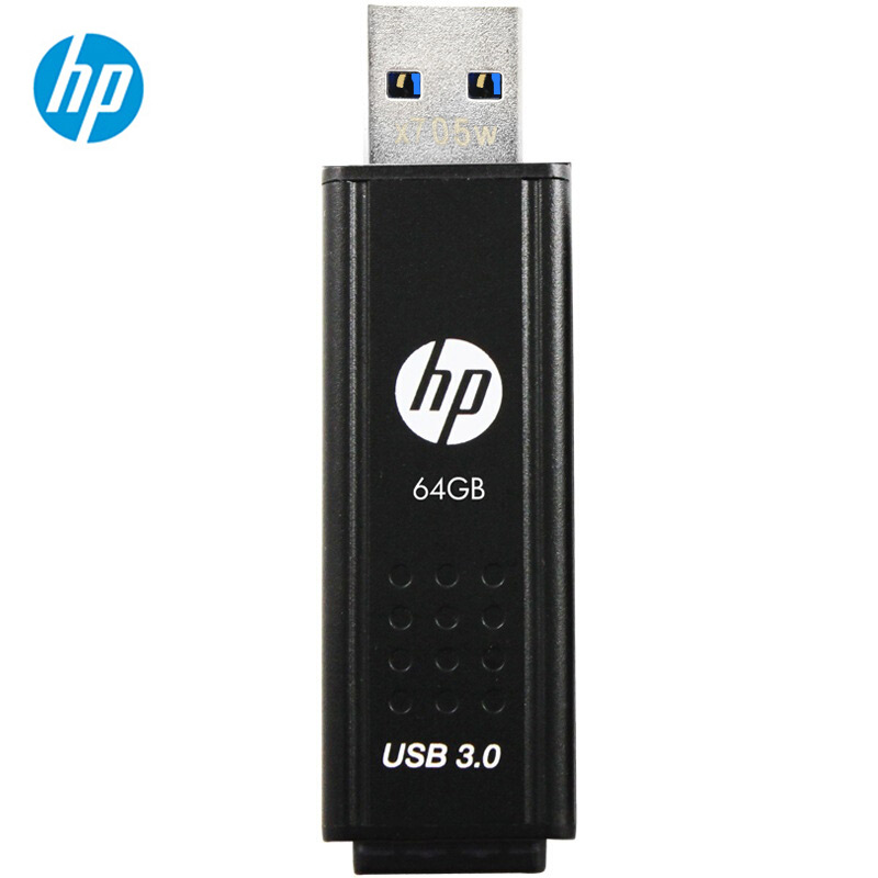 HP USB 3.0 32GB Flash Drive Stick Memory Disk 16gb 64gb 128gb  256gb X705W Metal Thumb Storage Pen Drive 64gb With Free Shipping