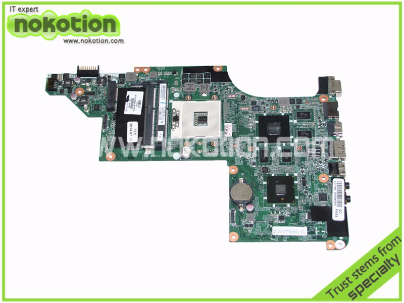 NOKOTION 592816-001 Mainboard For HP pavilion DV6 DV6T DV6-3000 Laptop Motherboard DA0LX6MB6I0 DDR3 warranty 60 days