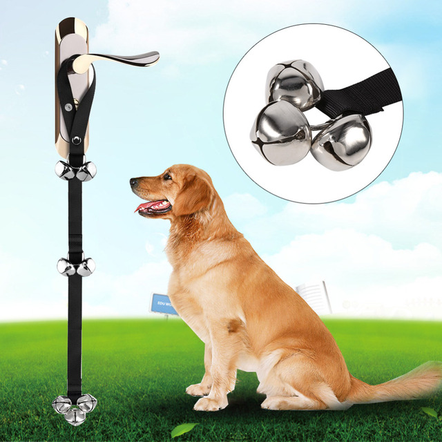 New Arrival Pet Dog Training Dog Cat Doorbells Adjustable Rope