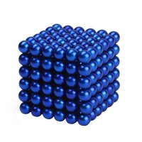 5mm 216pcs Neodymium Magnetic Balls Spheres Beads Magic Cube Magnets Puzzle Birthday Present