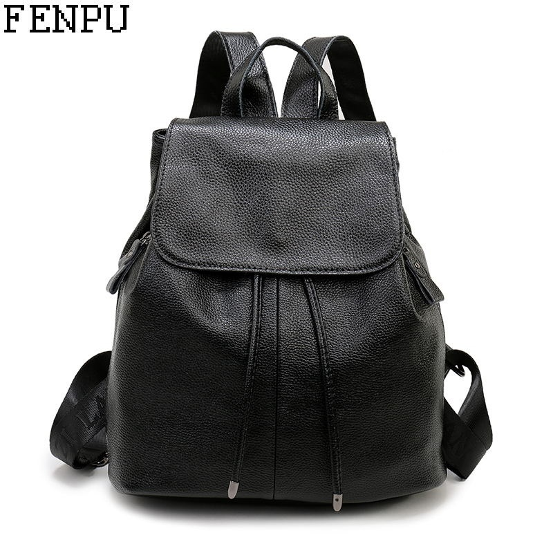 New Fashion Brand Women Genuine Leather Backpack Women's Backpacks for Teenage Girls Ladies Bags with Zippers School Bag Mochila