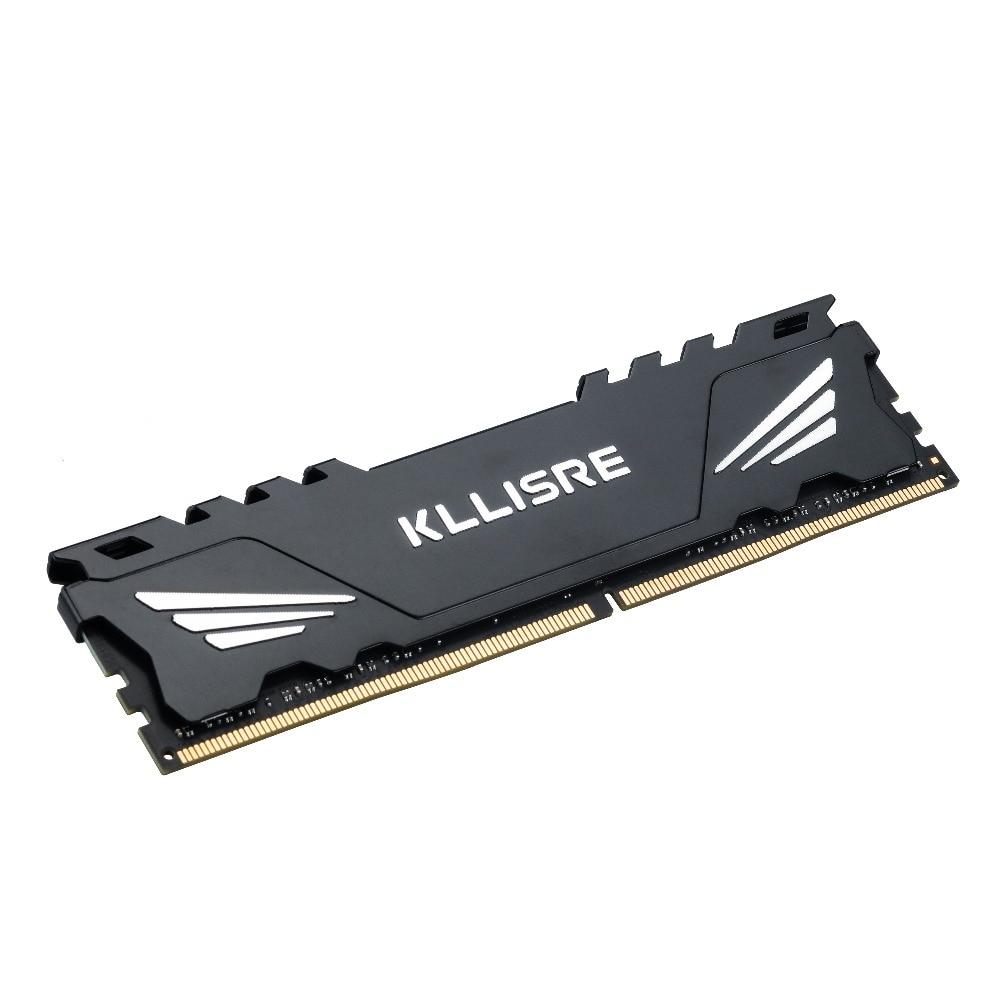 Kllisre DDR3 DDR4 4GB 8GB 16GB 1866 1600 2400 2666 2133 Desktop Memory with Heat Sink DDR 3 ram pc dimm for all motherboards 3